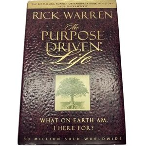 The Purpose Driven Life by Rick Warren Book